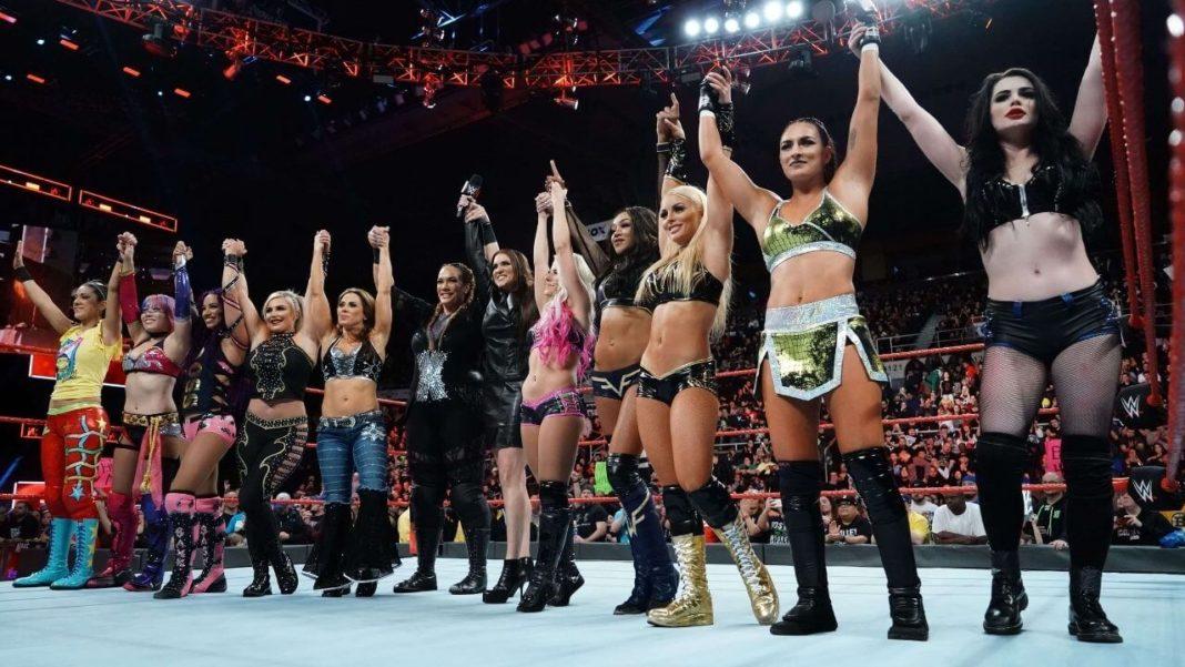 Der erste Royal Rumble der Frauen wird angekündigt (18. Dezember 2017) - (c) 2020 WWE. All Rights Reserved.