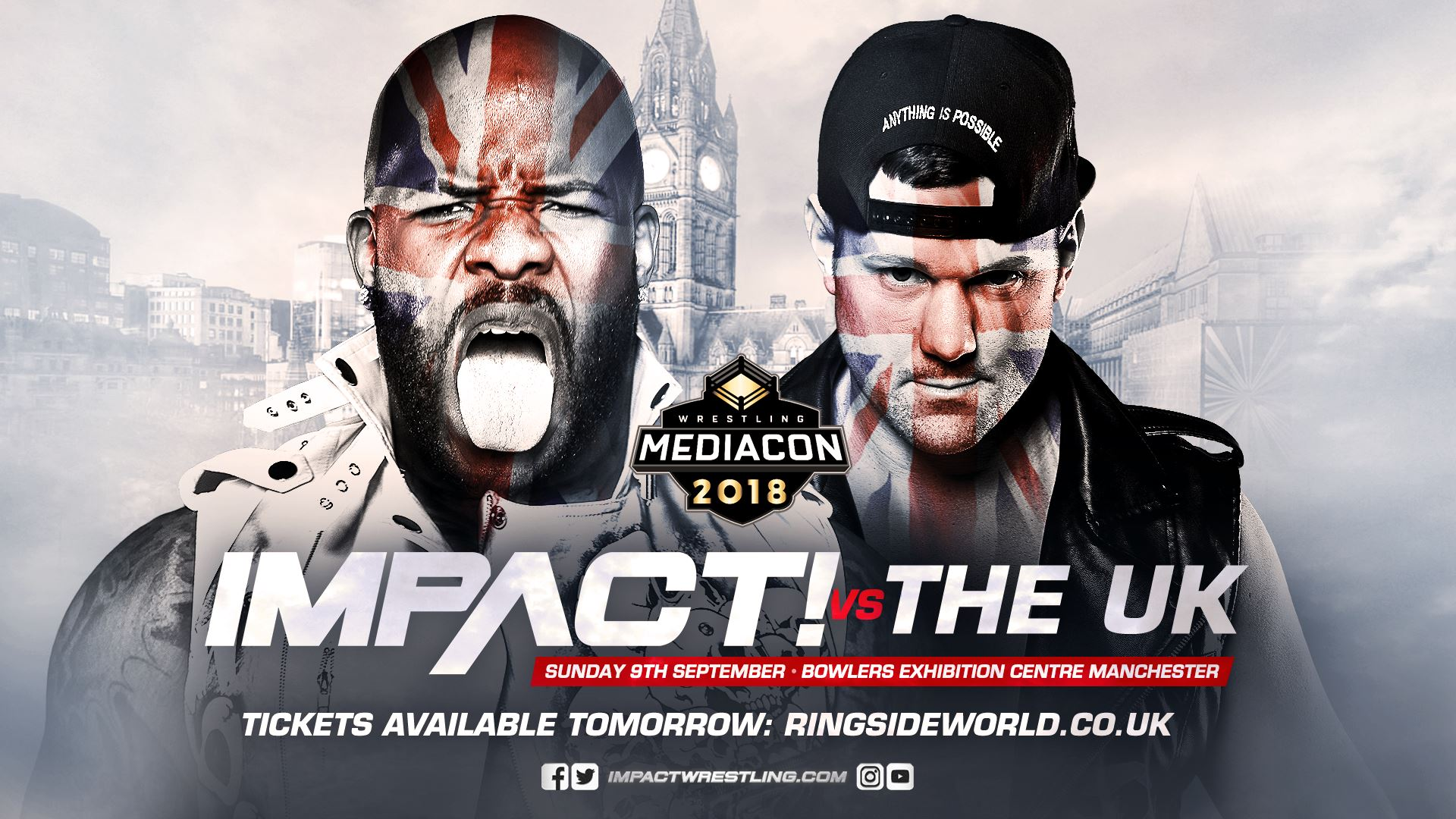 IMPACT vs. The UK: Im September in Manchester