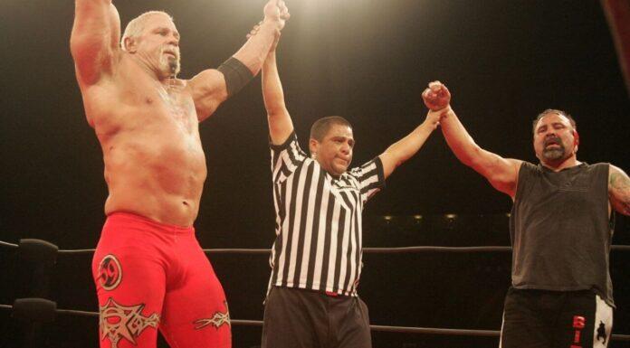 Wrestling-Legenden: Rick (r.) und Scott Steiner