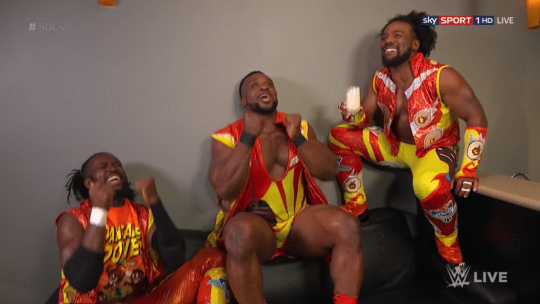 Pancake Day bei The New Day