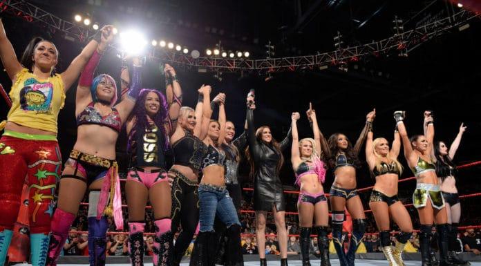 Bekanntgabe zum WWE Royal Rumble der Frauen - Dezember 2018 - (c) WWE
