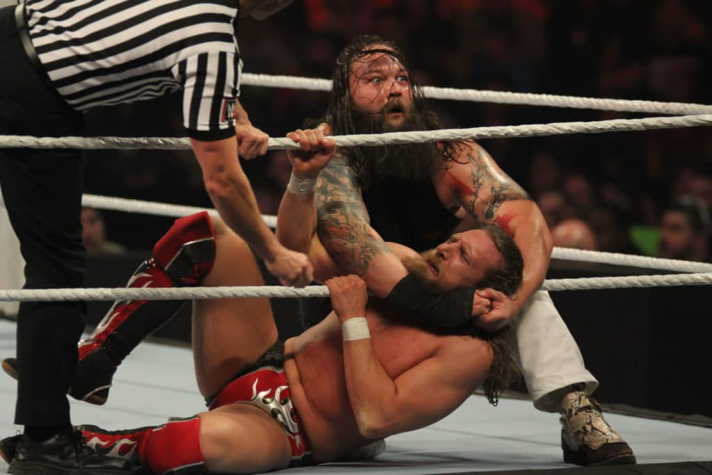 WWE: Bray Wyatt contro Daniel Bryan