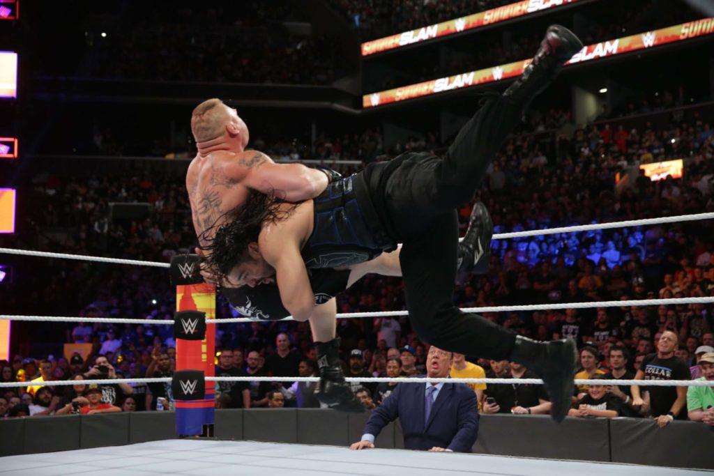 Roman Reigns vs. Brock Lesnar beim SummerSlam 2018