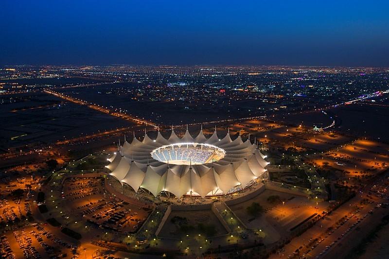 Das King Fahd International Stadion in Riad (Saudi-Arabien) ist die Austragungsstätte für WWE Crown Jewel / (c) 2018 WWE. All Rights Reserved.