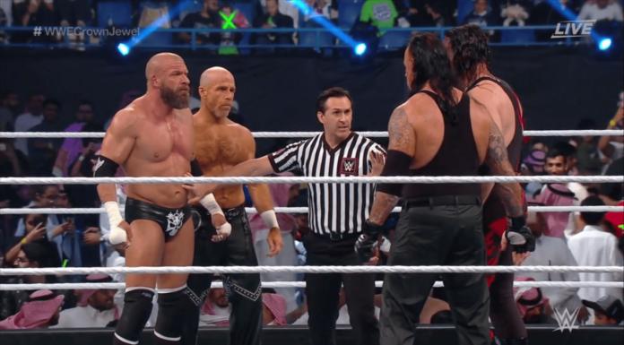 Der Main Event von WWE Crown Jewel
