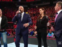 McMahons bei Monday Night Raw