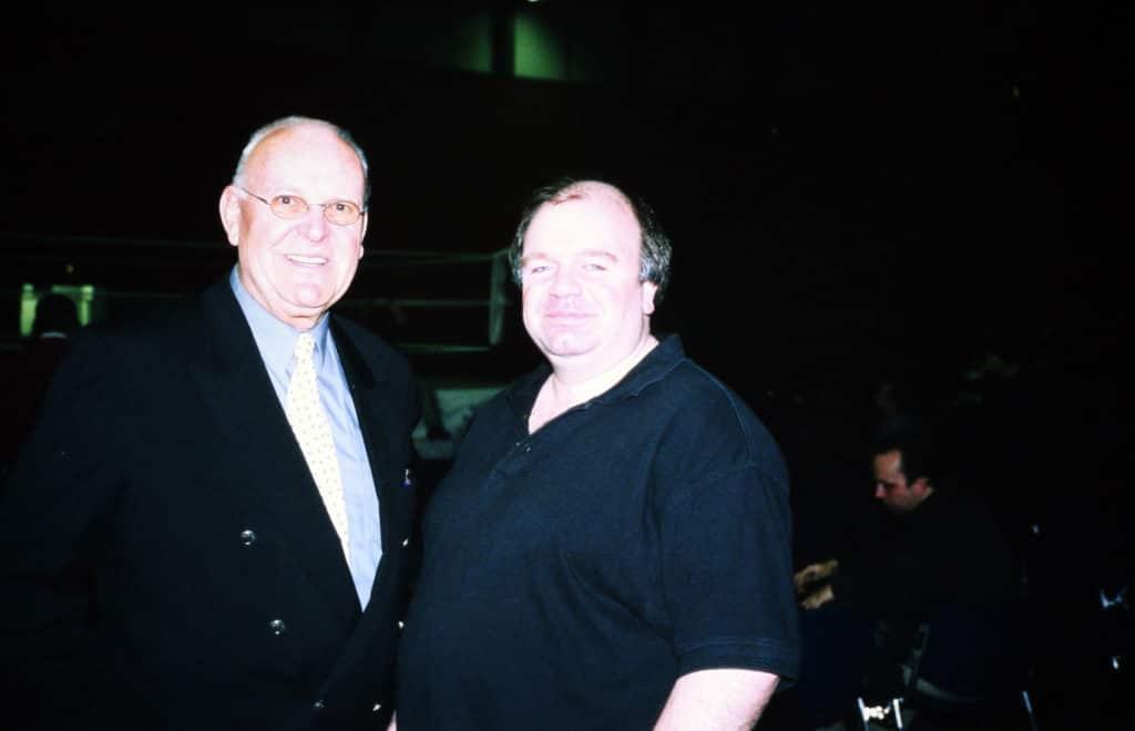 Peter William mit PW-Herausgeber Wolfgang Stach