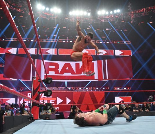 Finn Bálor - WWE Raw 14.1.19 - (c) 2019 WWE. All Rights Reserved.