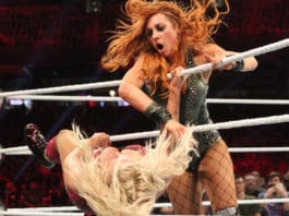Becky siegt beim WWE Royal Rumble 2019. (c) 2019 WWE. All Rights Reserved.