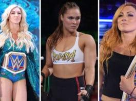 Charlotte, Ronda Rousey, Becky Lynch