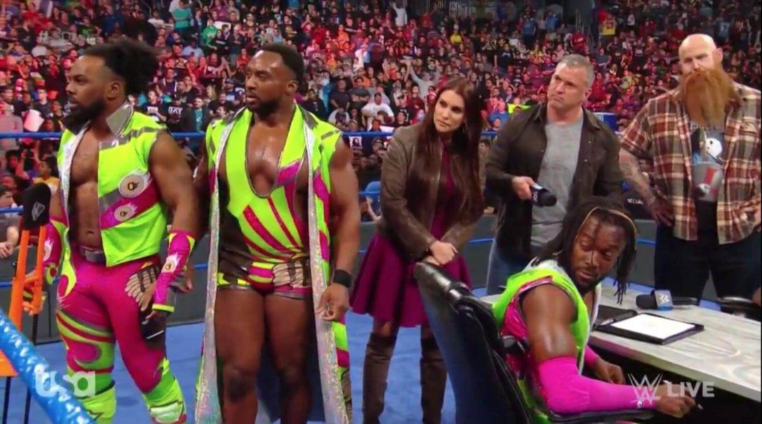 Überraschung bei WWE SmackDown Live