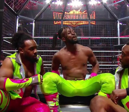 Kofi Kingston bei WWE Elimination Chamber 2019