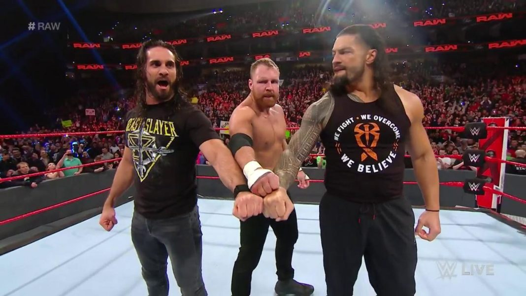 The Shield - (c) 2019 WWE. All Rights Reserved.