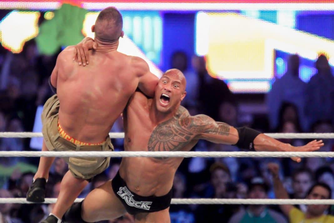 WrestleMania 29: The Rock vs. John Cena