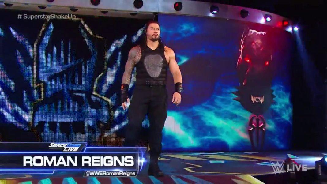 Roman Reigns bei WWE SmackDown