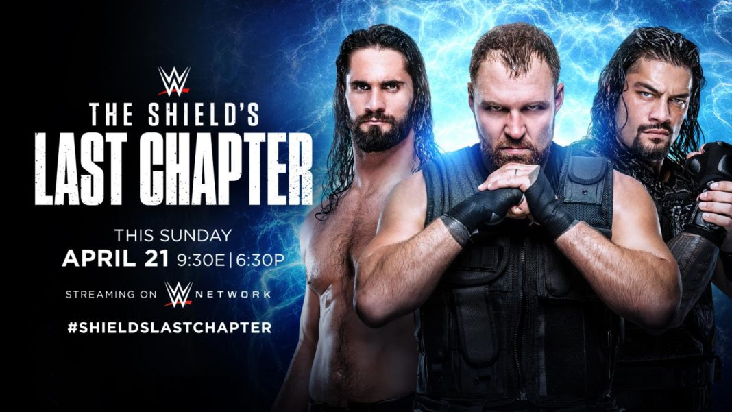 The Shield: Last Chapter auf WWE Network