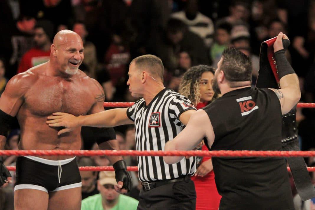 Bill Goldberg vs. Kevin Owens bei WWE Fastlane 2017