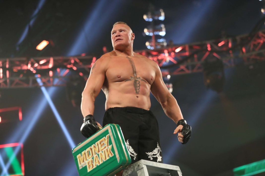 Brock Lesnar siegt bei WWE Money in the Bank 2019 - (c) 2019 WWE. All Rights Reserved.