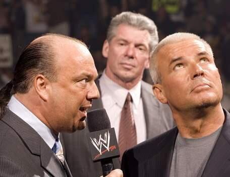 Paul Heyman, Vince McMahon, Eric Bischoff