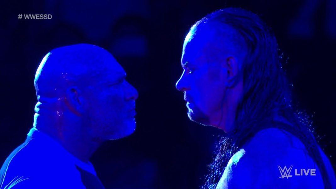 Undertaker trifft Goldberg bei WWE SmackDown am 4. Juni 2019