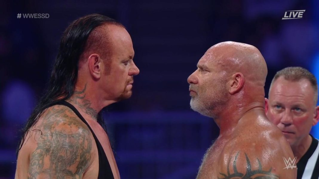 Undertaker vs. Goldberg - WWE Super ShowDown 2019