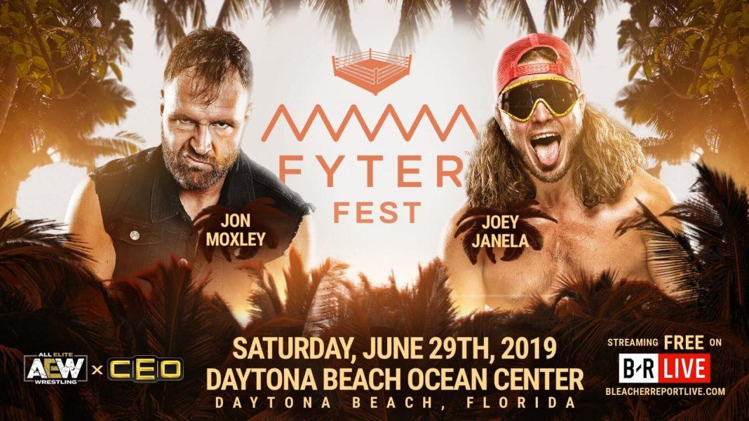 AEW Fyter Fest - Jon Moxley vs. Joey Janela