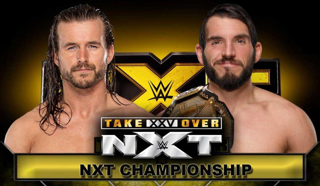 Adam Cole vs. Johnny Gargano - NXT Takeover 25