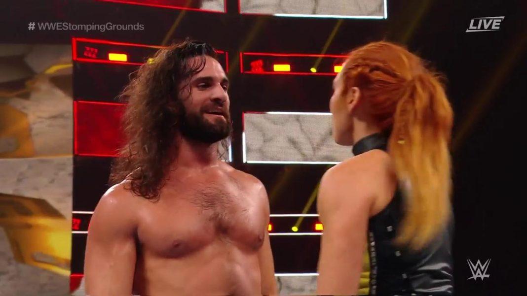 Seth Rollins und Becky Lynch
