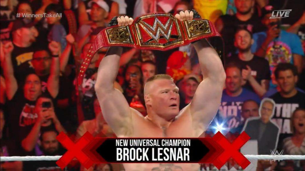 Universal Champion Brock Lesnar