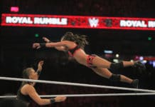 Kacy Catanzaro beim WWE Royal Rumble 2019