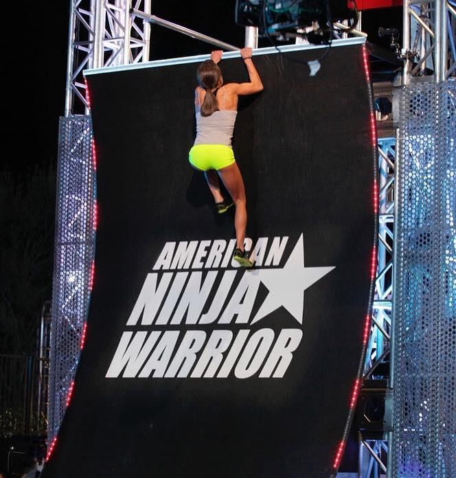 Kacy bei American Ninja Warrior