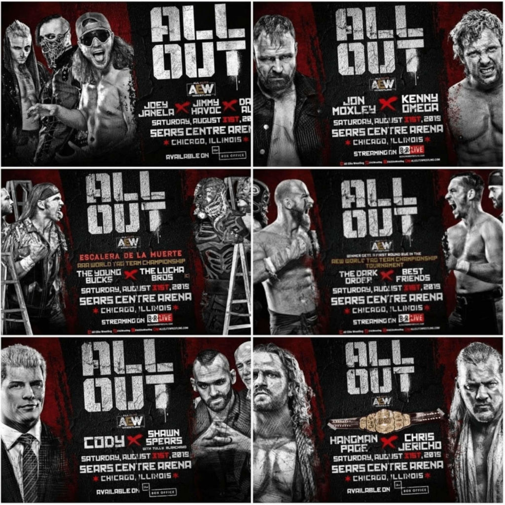 AEW All Out Line-up