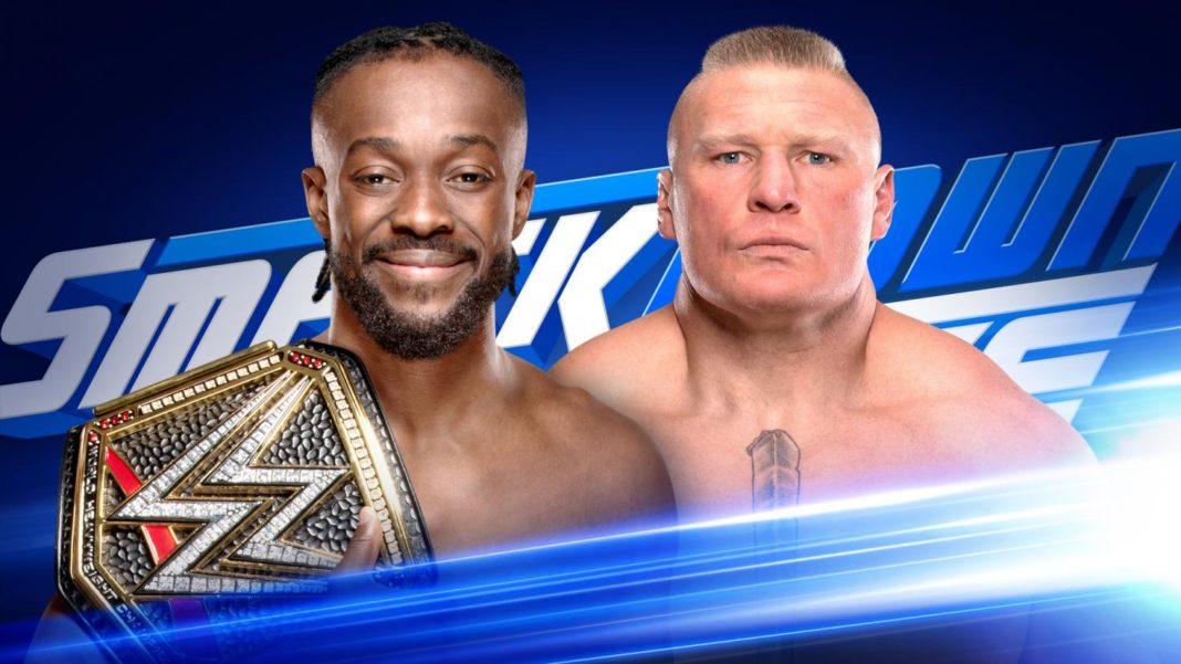 Brock Lesnar vs. WWE-Champion Kofi Kingston am 4. Oktober bei WWE SmackDown
