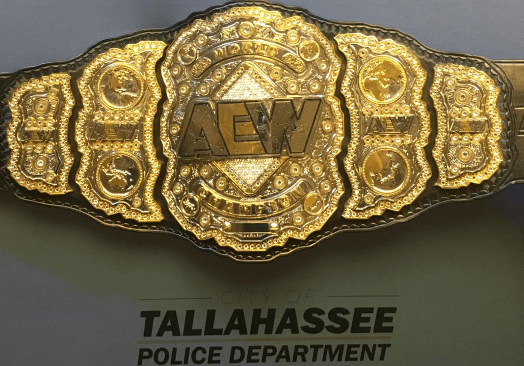 Der AEW-Titel ist wieder aufgetaucht