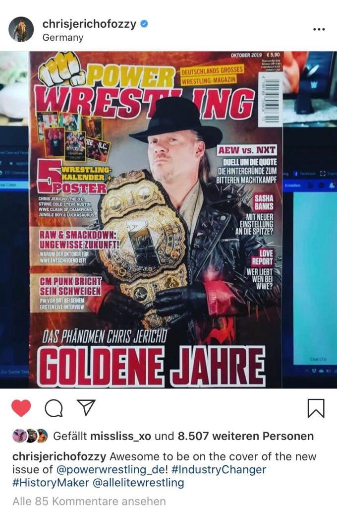 ... auch Chris Jericho gefällt das!