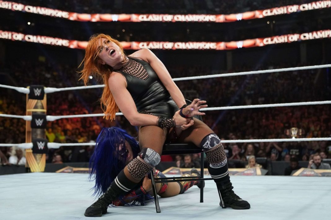 Becky Lynch vs. Sasha Banks - WWE Clash of Champions 2019 (Foto: (c) 2019 WWE. All Rights Reserved.)