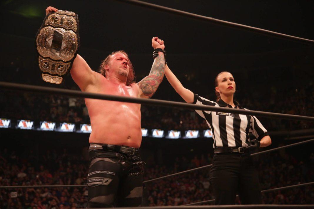 Chris Jericho - erster AEW-Champion