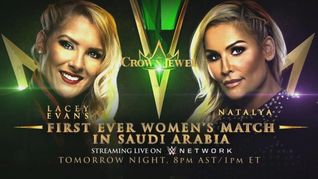 Lacey Evans vs. Natalya - WWE Crown Jewel 2019