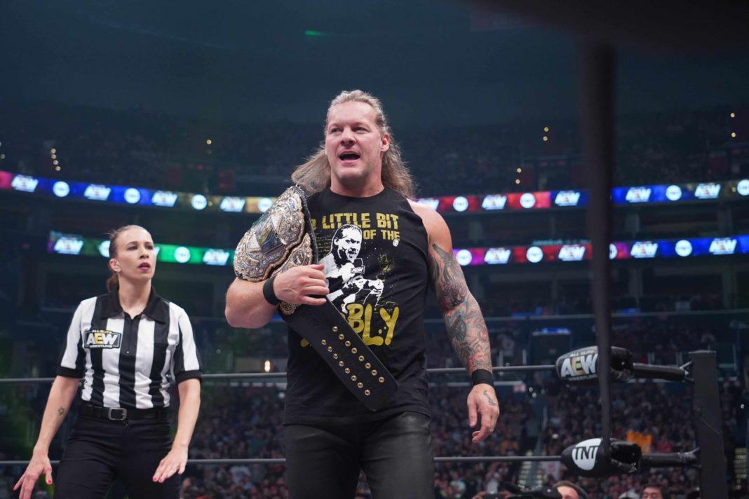 Chris Jericho - AEW-Champion (Foto: Lee South, AEW)