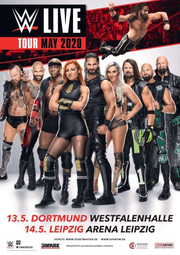 WWE LIVE MAI 2020