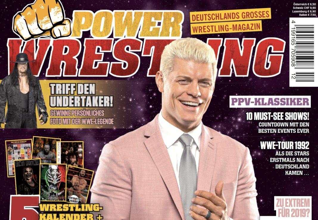 Power-Wrestling Dezember 2019 - Vorschau