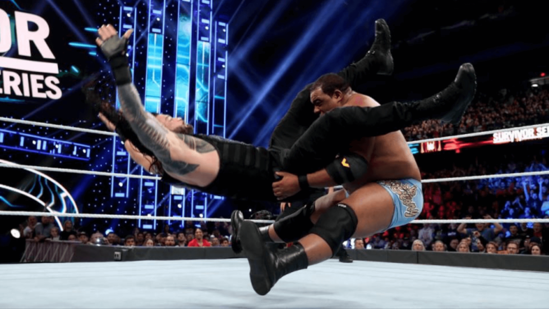 Roman Reigns vs. Keith Lee - WWE Survivor Series - (c) 2019 WWE. All Rights Reserved.