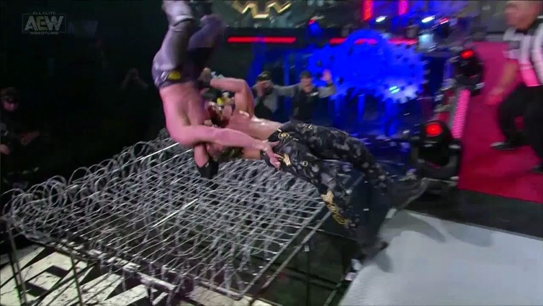 Kenny Omega vs. Jon Moxley - Lights Out!