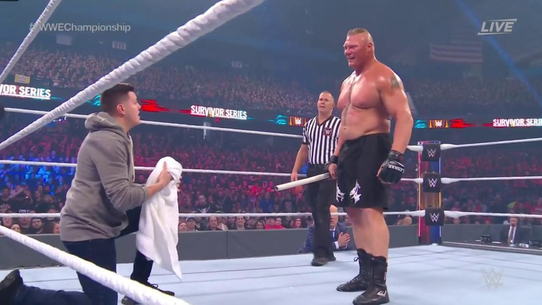 Brock Lesnar ist kein netter Mann - (c) 2019 WWE. All Rights Reserved.