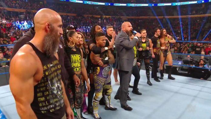 Eine NXT-Invasion bei WWE SmackDown