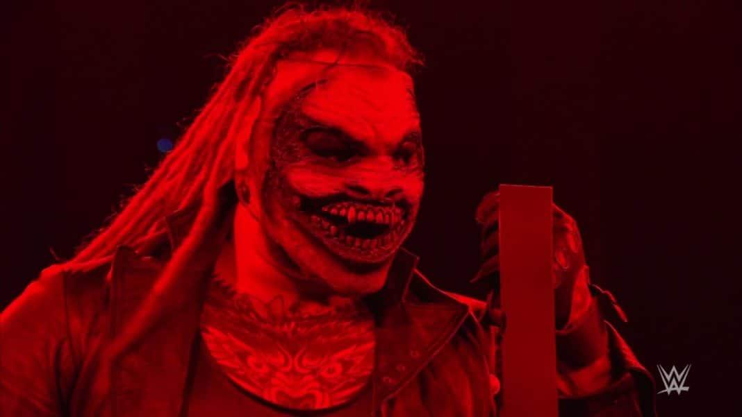 The Fiend (Bray Wyatt) ist bereit für das Strap-Match - WWE SmackDown vom 24.1.20 - (c) 2020 WWE. All Rights Reserved.
