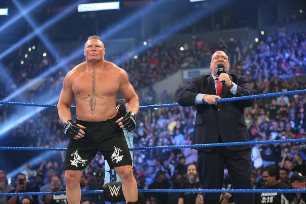 Brock Lesnar und Paul Heyman