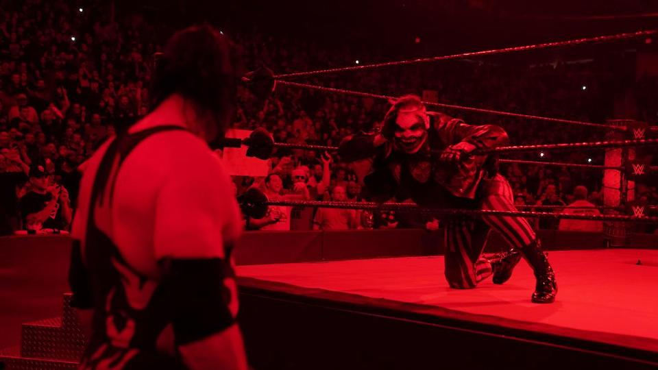 Kane trifft Fiend, WWE SmackDown - 17.1.2020 - (c) WWE. All Rights Reserved.