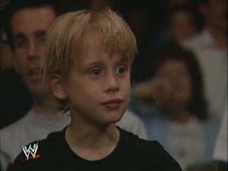 Macaulay Culkin bei WrestleMania VII (1991)