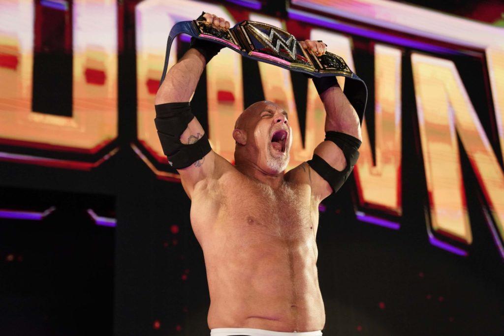 Bill Goldberg, Universal Champion - (c) 2020 WWE. All Rights Reserved.